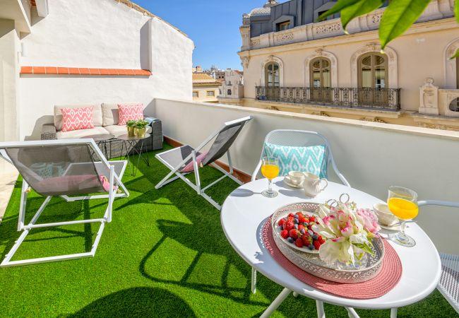 Apartamento en Málaga - Atico Sebastian Souviron