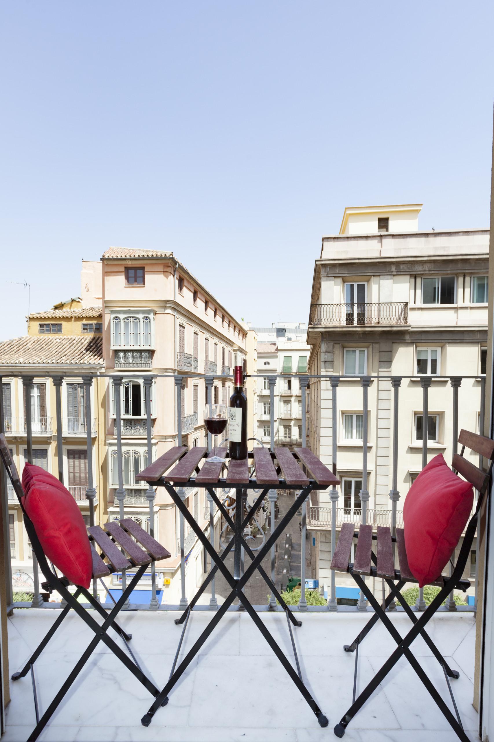 Apartments in Málaga - Puerta del Mar 4A