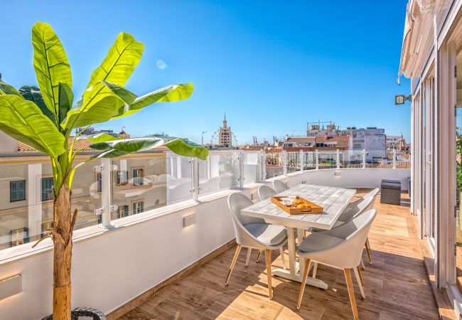 Apartment in Málaga - Atico Plaza de las Flores